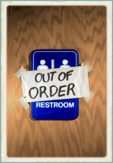 Occupy, toilets image