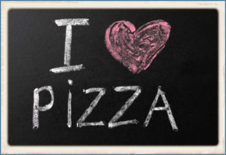 I HEART PIZZA image